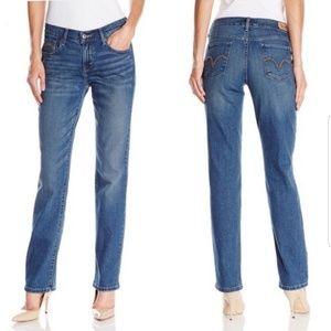 Levi's 505 Straight Leg Medium Wash Jeans, 6